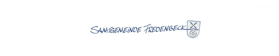 Header-Grafik Samtgemeinde Fredenbeck